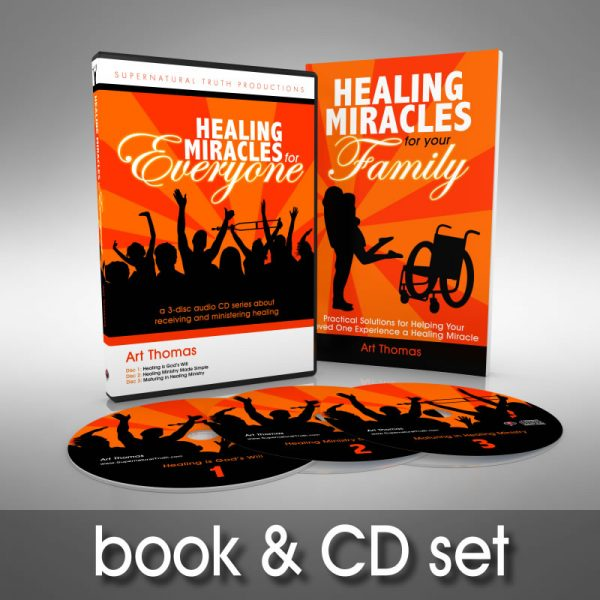 Healing Miracles Book and CD Set